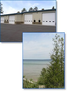 Storage Condos for Sale or Lease on Lake Michigan   North